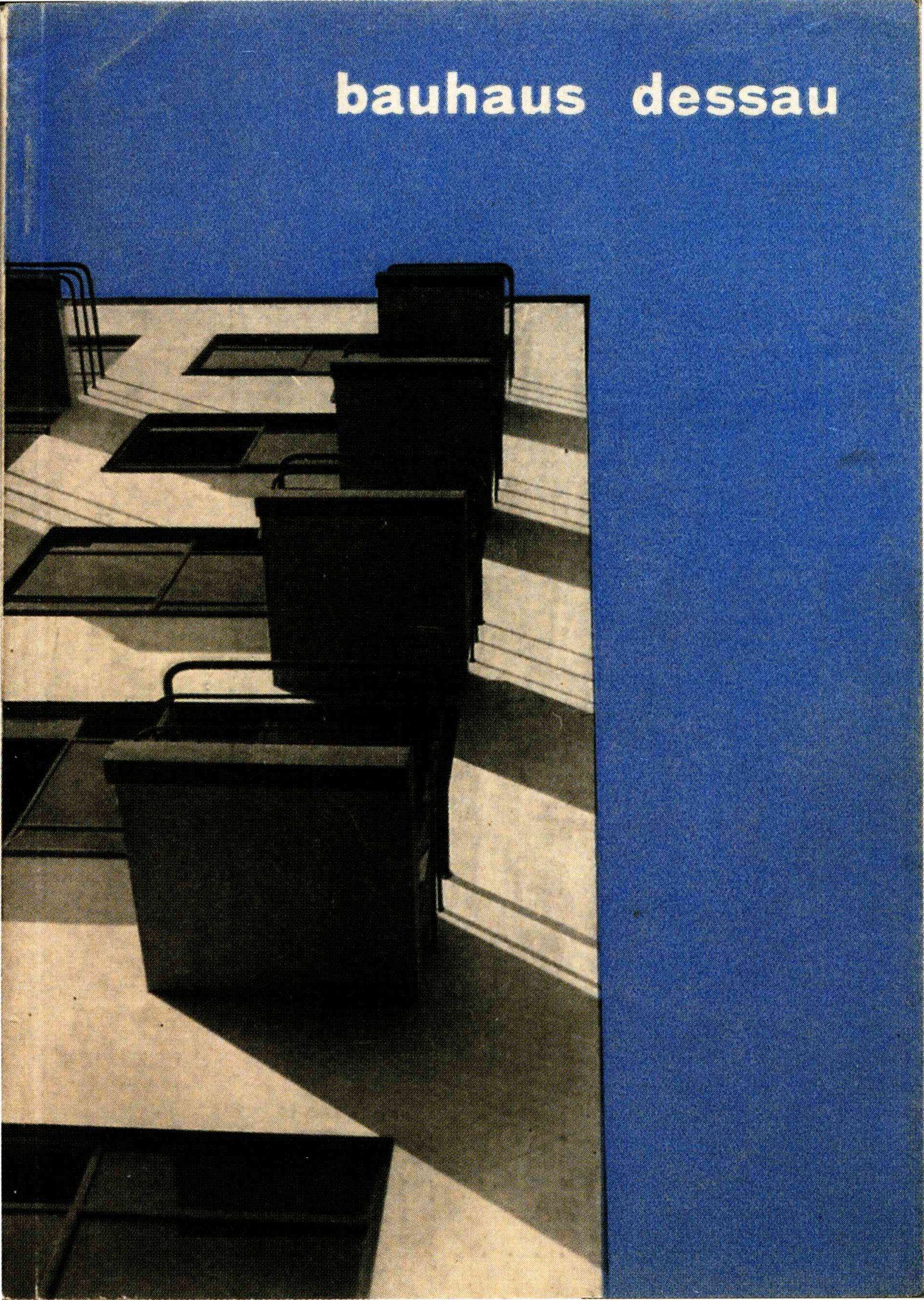 herbert bayer cover of bauhaus dessau college of design prospectus dessau bauhaus 1927. Black Bedroom Furniture Sets. Home Design Ideas