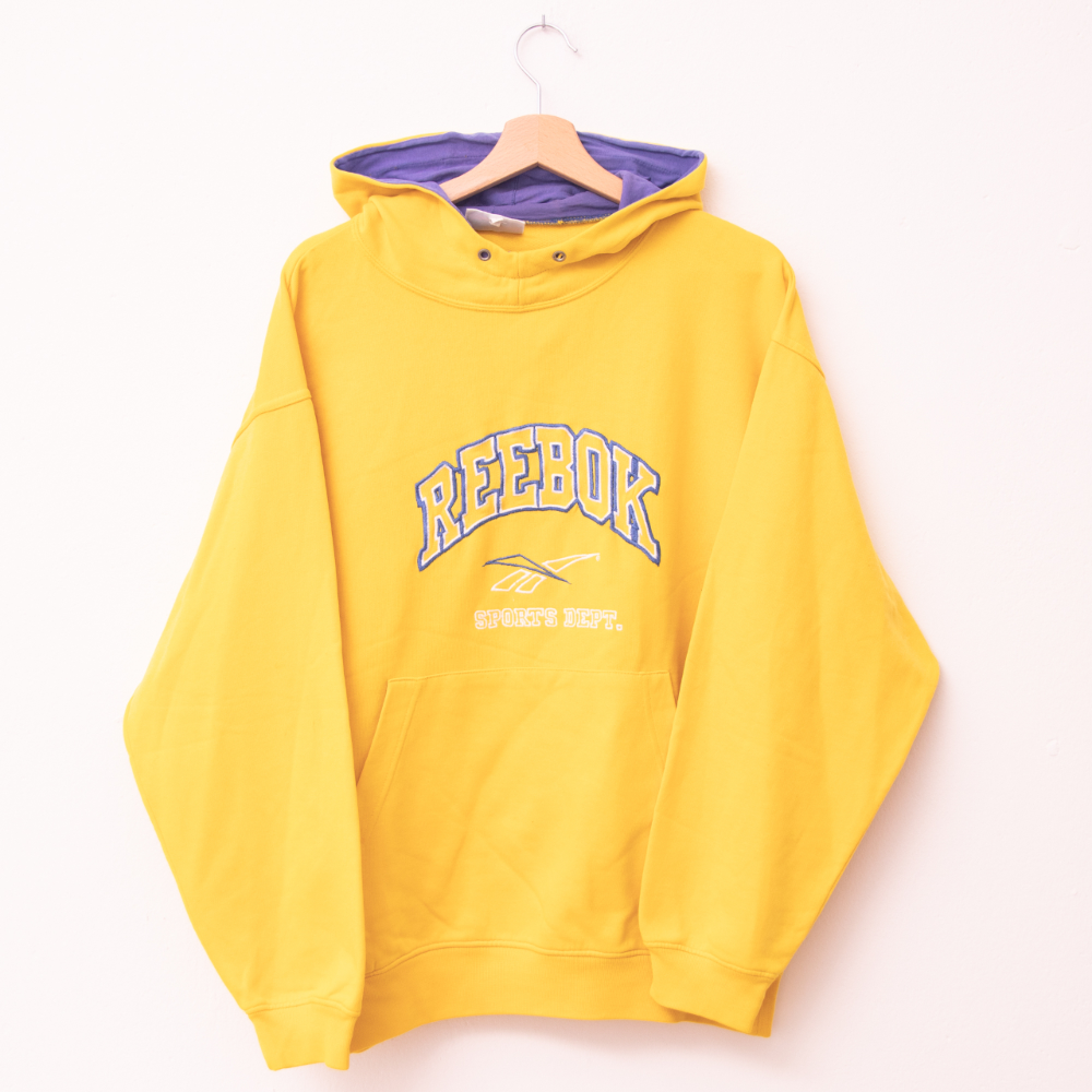 Reebok Hoodie In Yellow With Super Cool Spellout Depop Hoodies Reebok Hoodie Reebok [ 1000 x 1000 Pixel ]