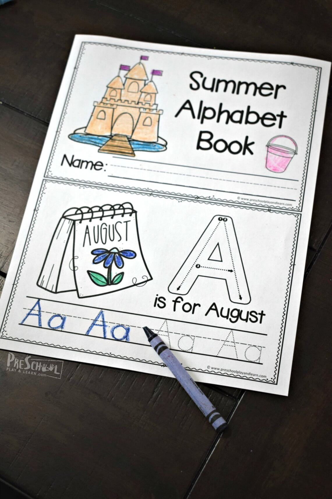 These Alphabet Letter Practice Sheets Are A Fun Way For