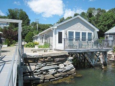 Freeport cottage rental Harraseeket Boathouse Cottage