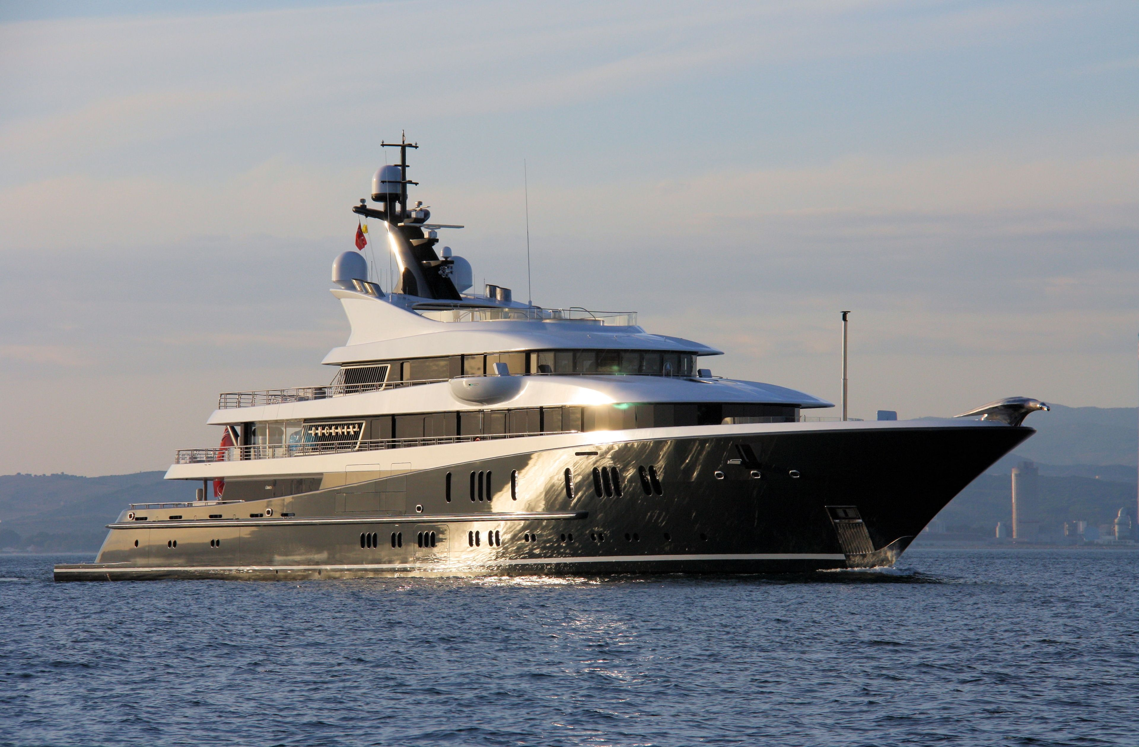 Phoenix 2, another offering from Lurssen, was built in 2010 and reintroduced a year after. Description from yachtler.com. I searched for this on bing.com/images