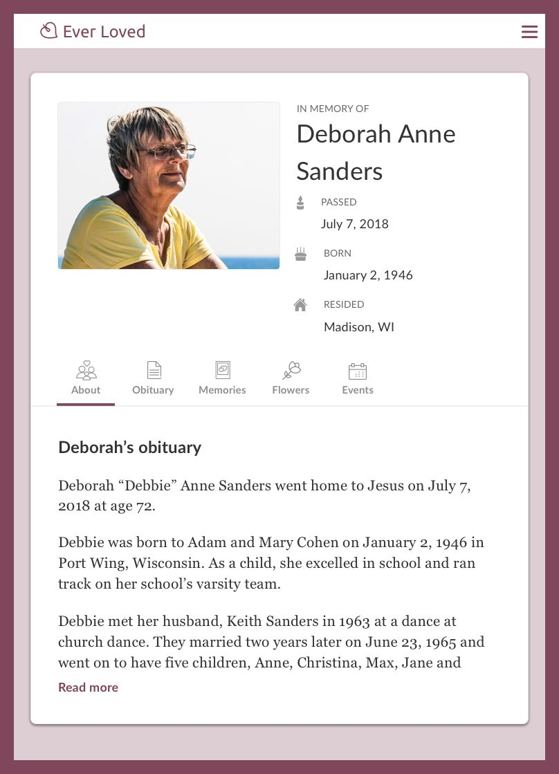 The charming Top Free Obituary Templates Ever Loved With
