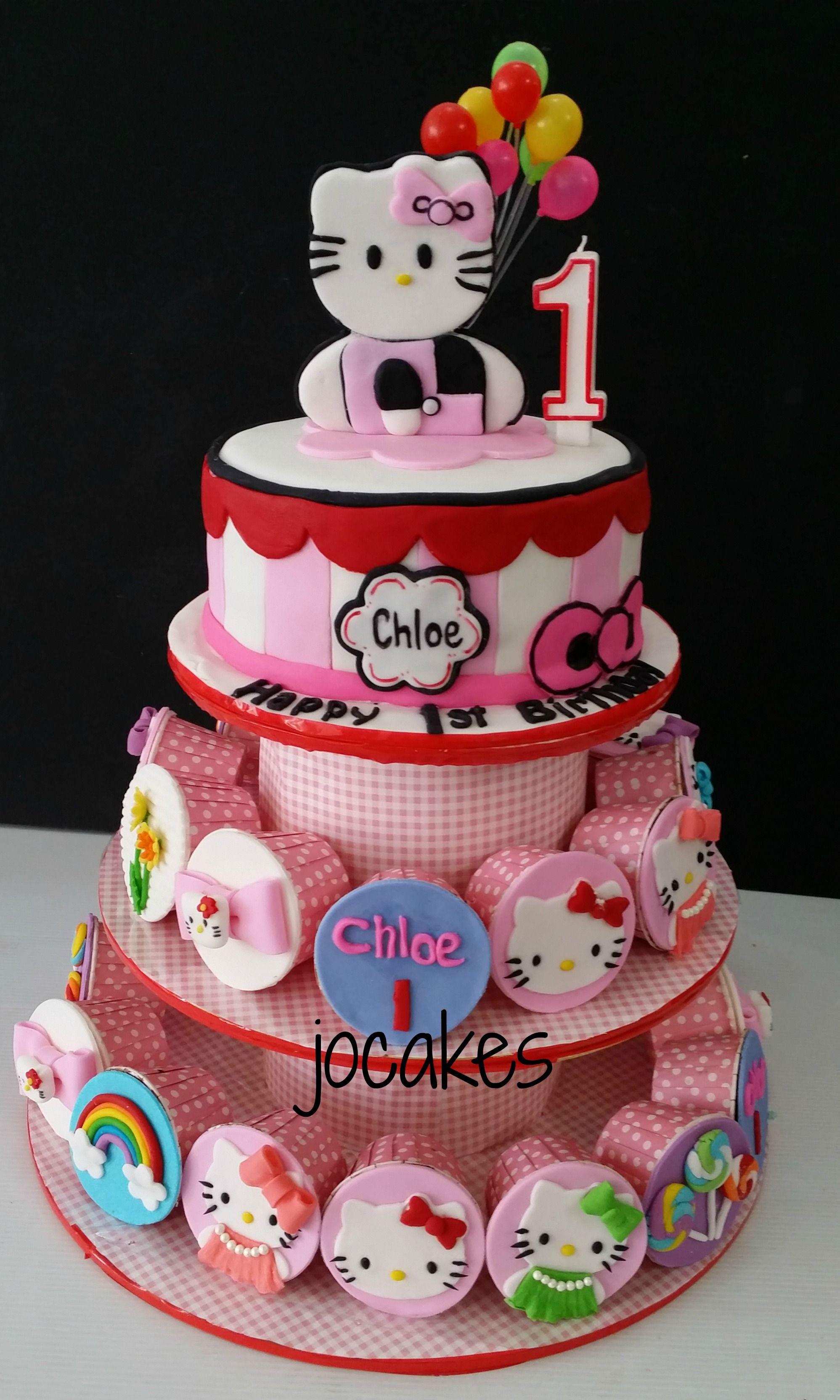 hello kitty birthday cake images