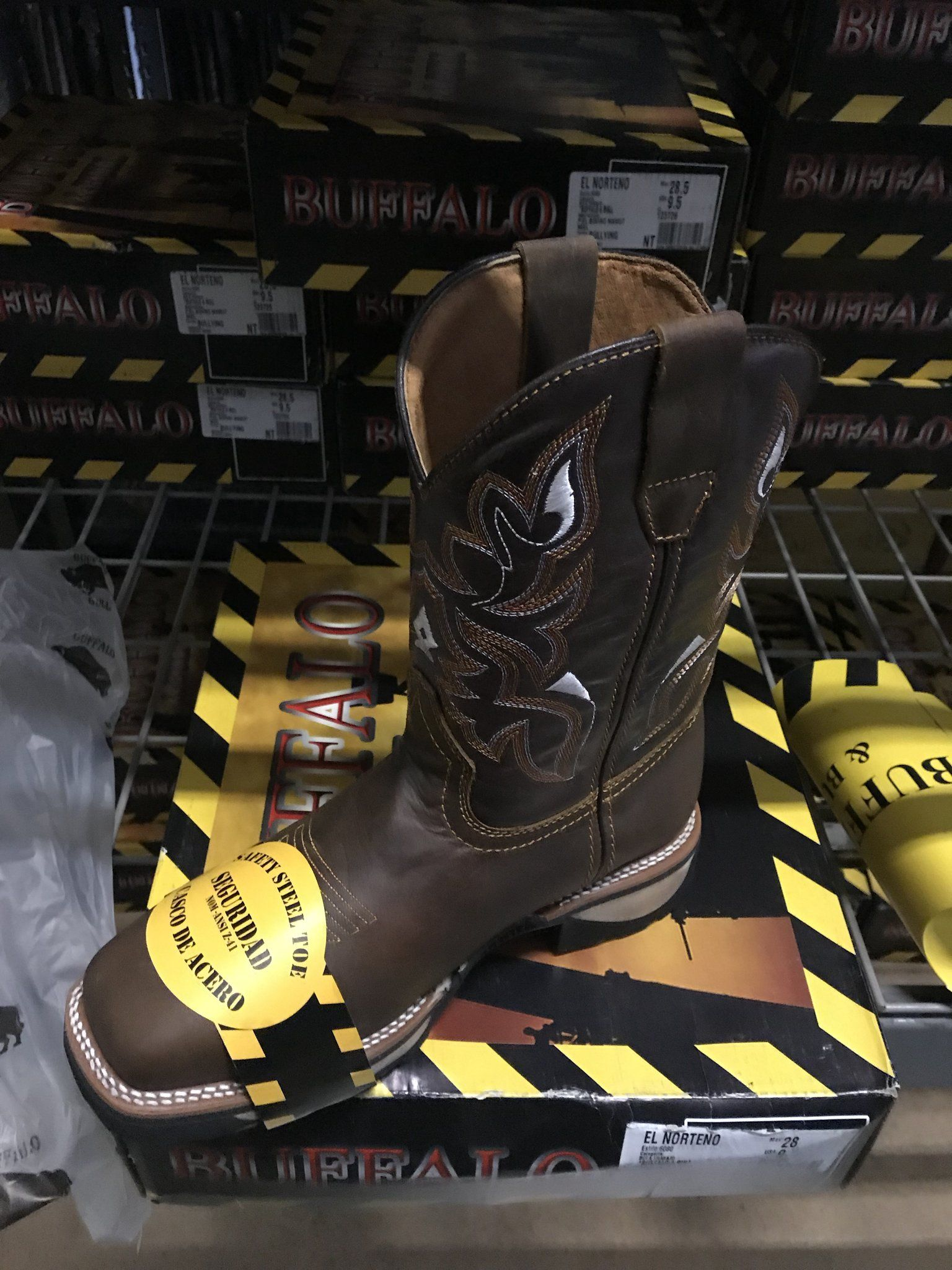 Buffalo Steel Toe Work Boots
