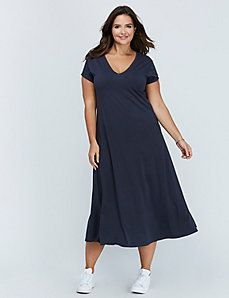 7dd9f6d52da0a Deep V Maxi Dress by C&C California   The Style Folder   Dresses ...