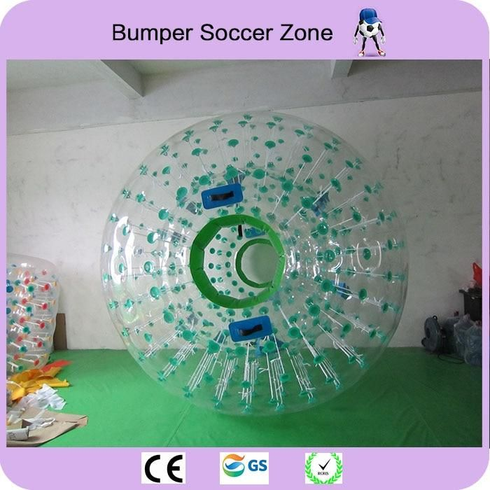 Free Shipping 2 Pieces And a Pumper Zorb Ball 2.5m Human