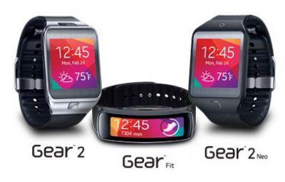 Te presento a los nuevos Samsung Gear 2, Gear Neo y Gear Fit