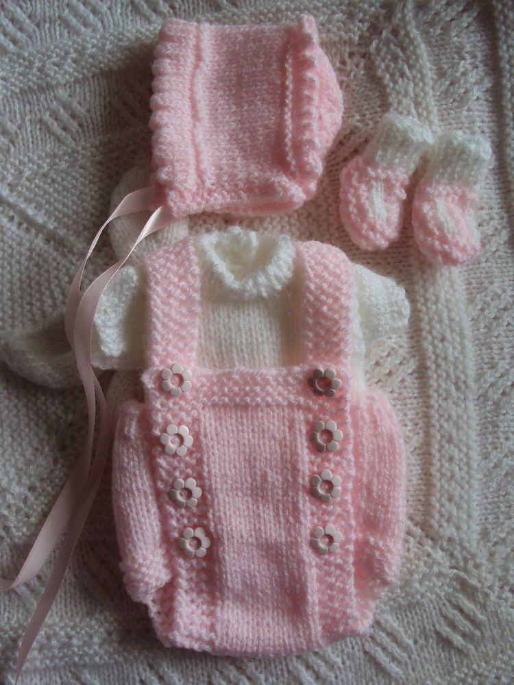 Hand Knitted Dolls Clothes to fit 11 /12 Reborn, Berenguer, ooak ...