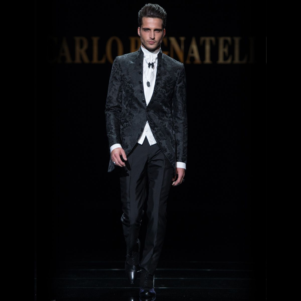 Carlo pignatelli fashion show wedding fashionshow groom