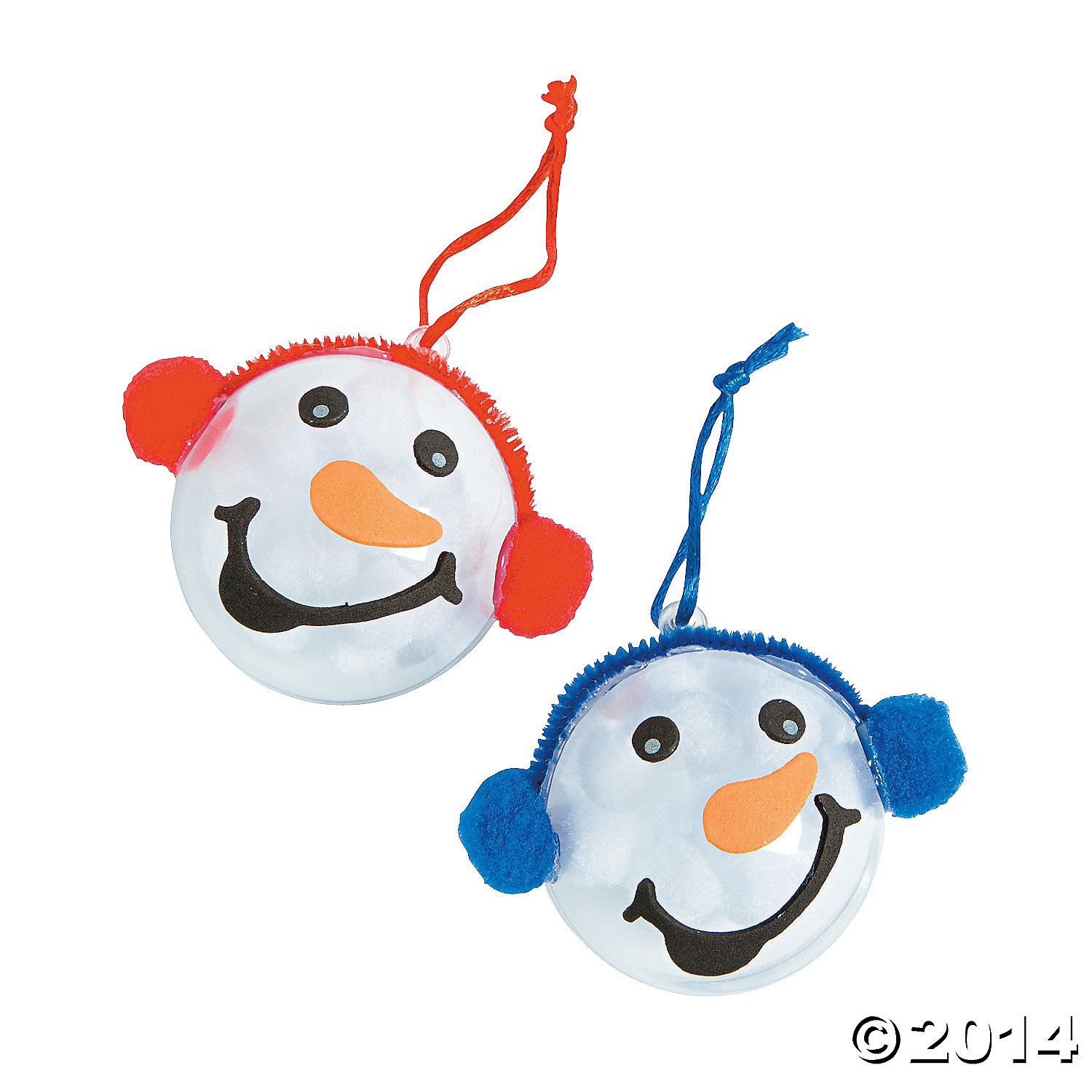 Snowman Head Ornament Christmas Craft Kit Party Supplies Canada &