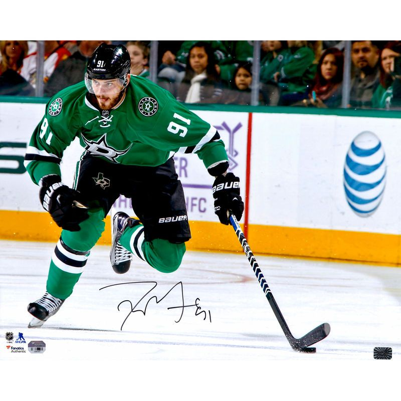 "Tyler Seguin Dallas Stars Fanatics Authentic Autographed 16"" x 20"" Green Jersey Skating Photograph"