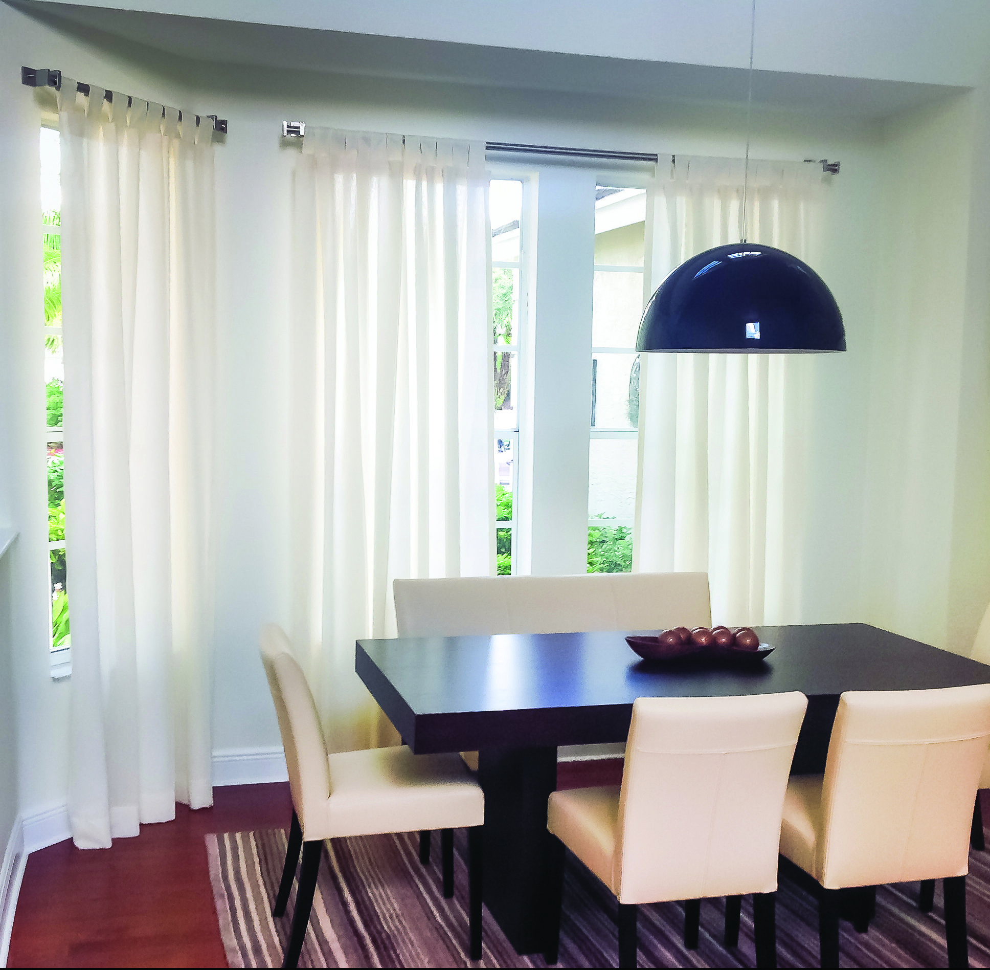 How about tap curtains sheer and linen to start off the week! This Weston residence looks beautiful with this final touch. #blindsshadesandshutters #myblindstoday #windowtreatment #miami #homedecor #homedecormiami #interiordesign #condoliving #luxury #luxuryliving  #miamiliving #home #light #miamicondos #miamibest