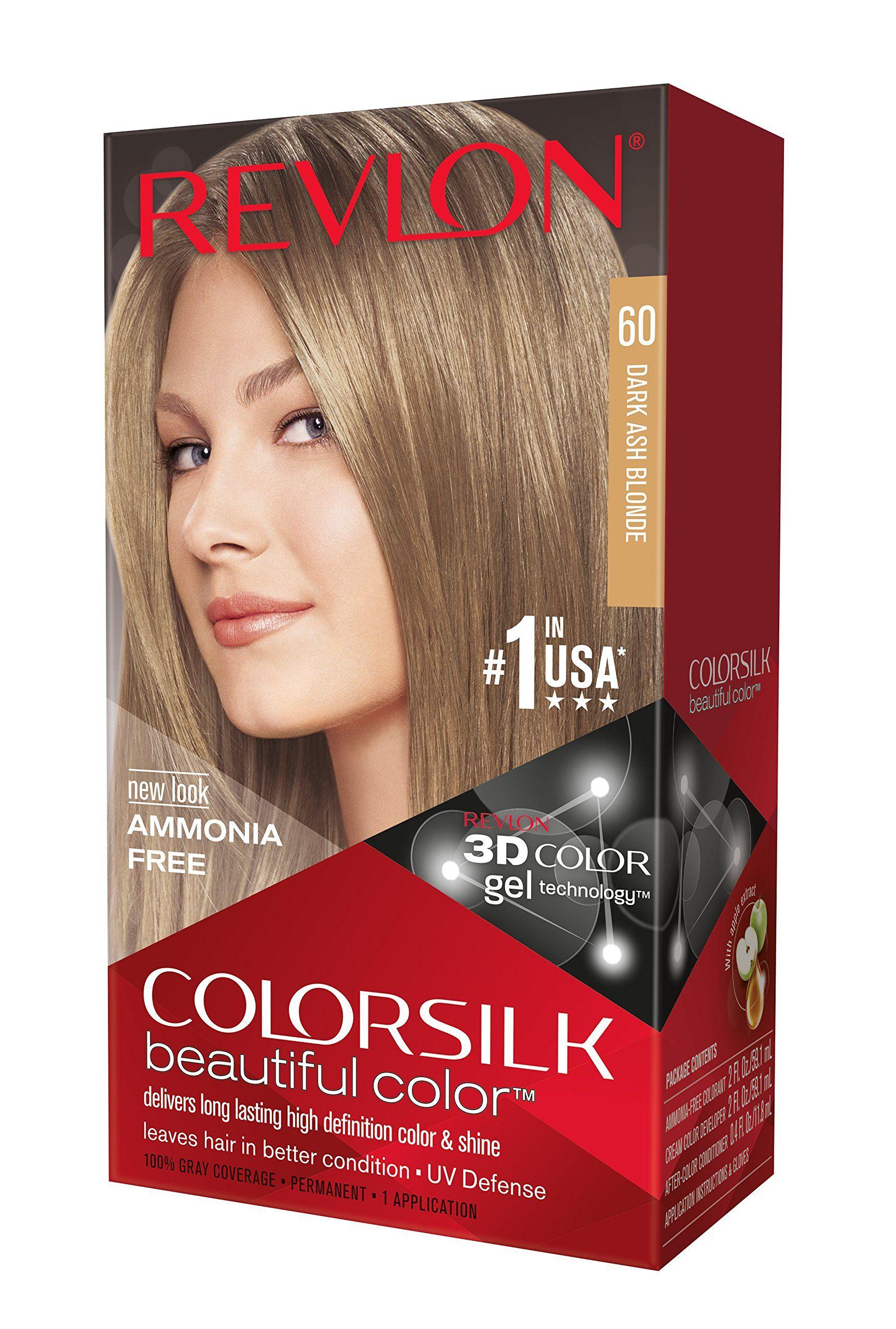 Revlon Colorsilk 60 Dark Ash Blonde Dark Ash Blonde Revlon Colorsilk Ash Blonde