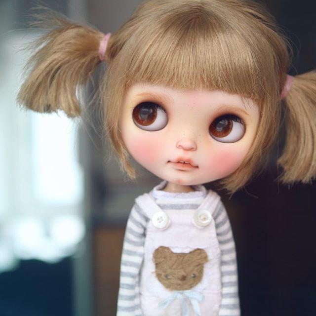 #bloomybloomsbury #blythe #customblythe #blythecustom #doll #k07 #k07doll
