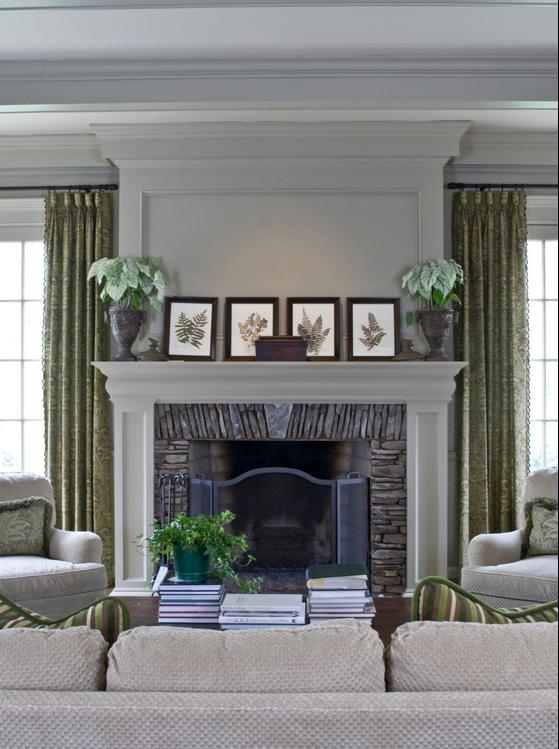 Houzz Fireplace Surround.