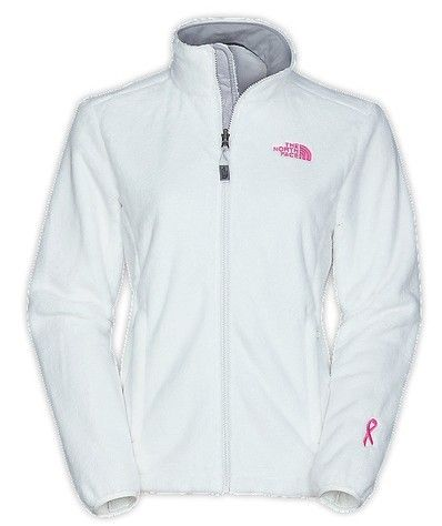 Womens North Face Pink Ribbon Osito Clearance Jackets - White Sale Online eee6f1a8da