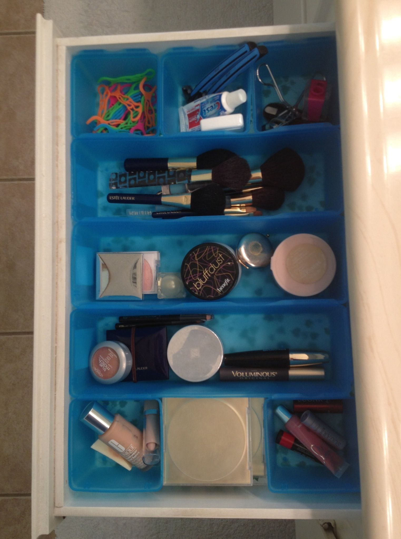 App Drawer Organizer I Found These Drawer Organizers For My Makeup Dollar Tree $3