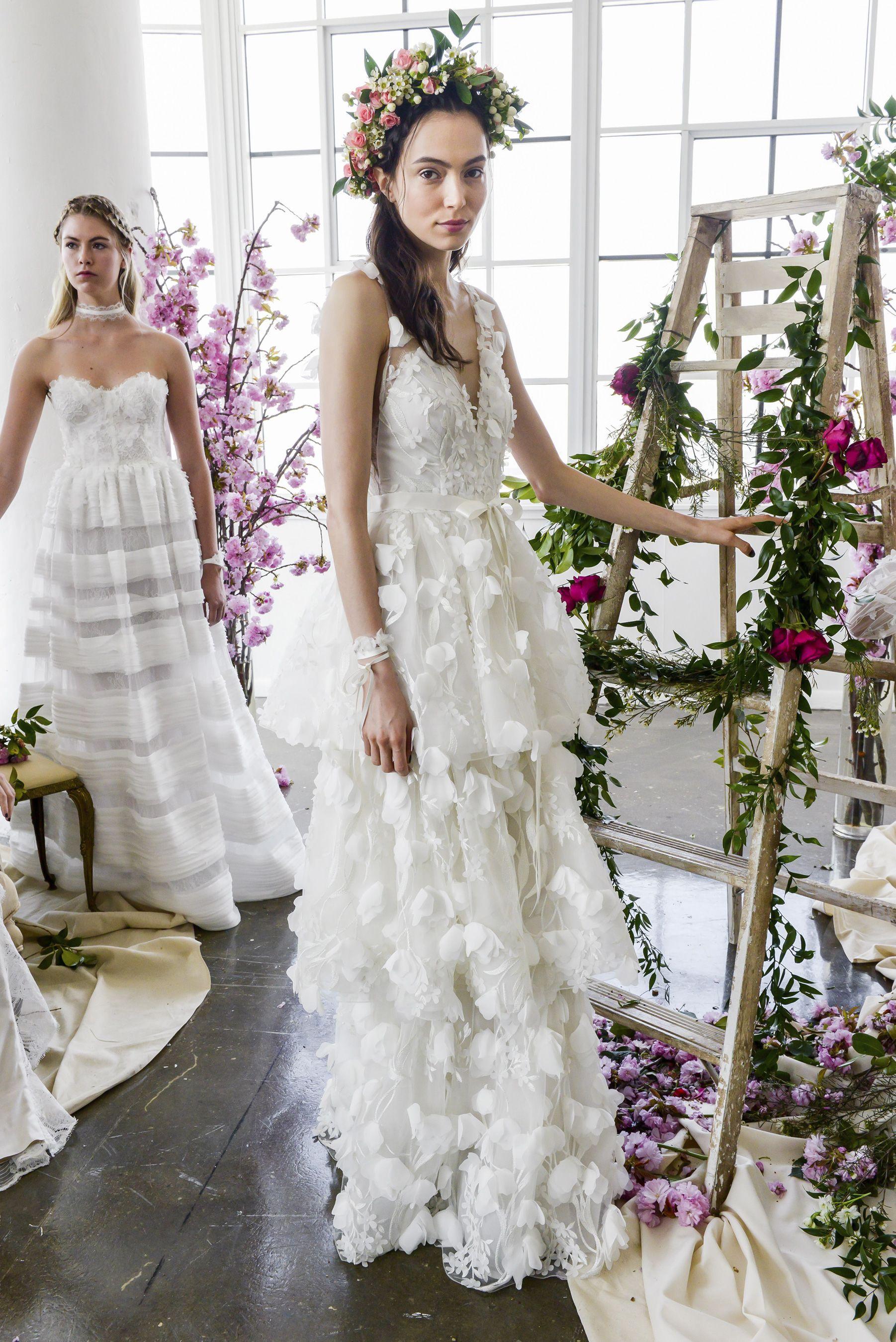 Marchesa notte spring bridal fashion show the impression