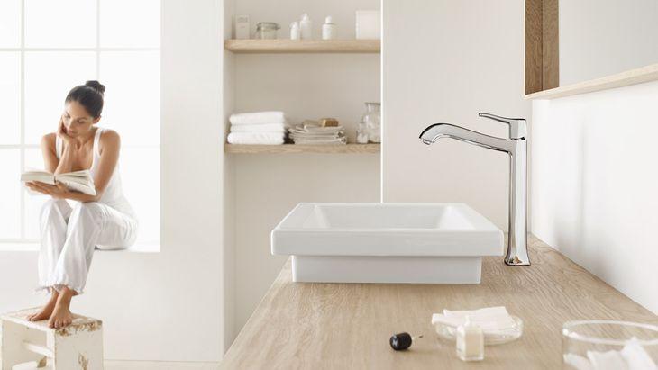Hansgrohe Bathroom Faucets   BEDROOM FURNITURE   Pinterest   Faucet ...