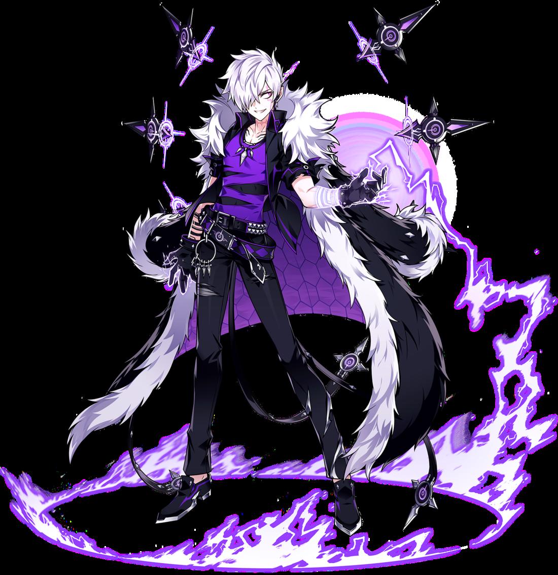 Portrait Doom Bringer Png Elsword Anime Warrior Anime Character Design