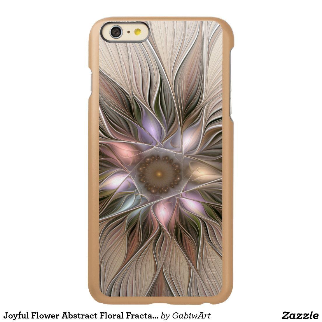 Joyful Flower Abstract Floral Fractal Art Incipio Feather® Shine iPhone 6 Plus…