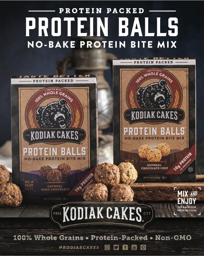 Oatmeal Chocolate Chip Protein Balls In 2020 Kodiak Cakes Protein Protein Ball Chocolate Chip Oatmeal