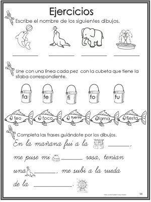 Más de 50 ejercicios de lecto-escritura para preescolar y primaria -Orientacion...