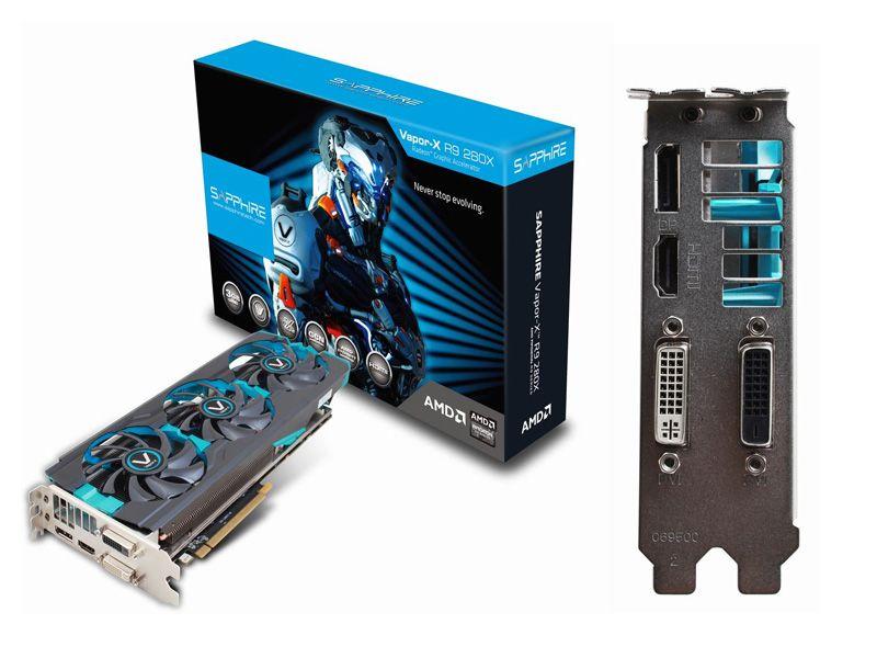Placa de Video Sapphire Vapor-X R9 280X 3GB GDDR5 | Tech in