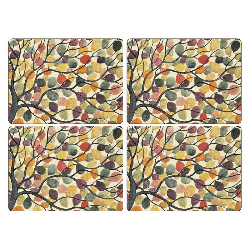Pimpernel Dancing Branches Placemats - Set of 4 - 2010648807