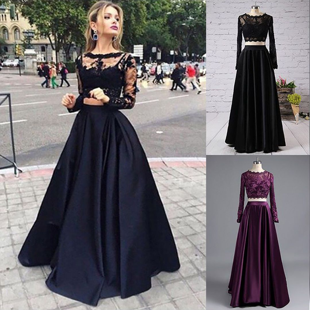 Pin On 2 Piece Prom Dresses [ 1080 x 1080 Pixel ]