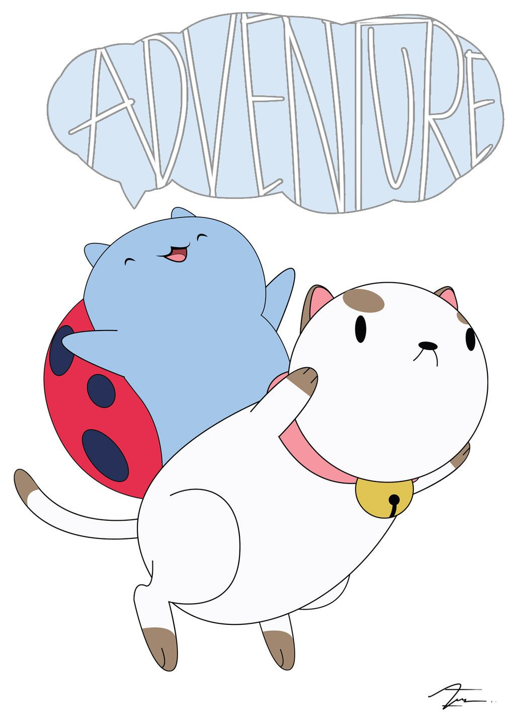 2 Of My Favourite Characters From Cartoon Hangover Catbug And Puppycat