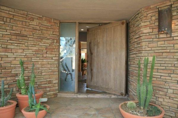 Porte du0027entrée pivotante et élégante en 31 idées Future house