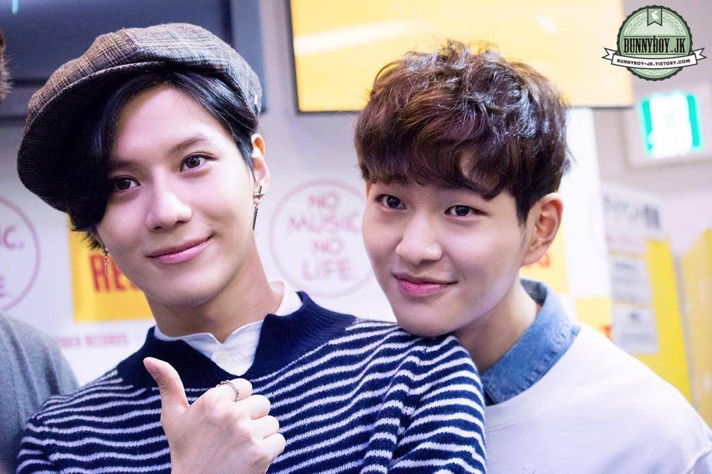 2014.09.24. Taemin, Onew, 'I'm Your Boy' Event w/o Key.