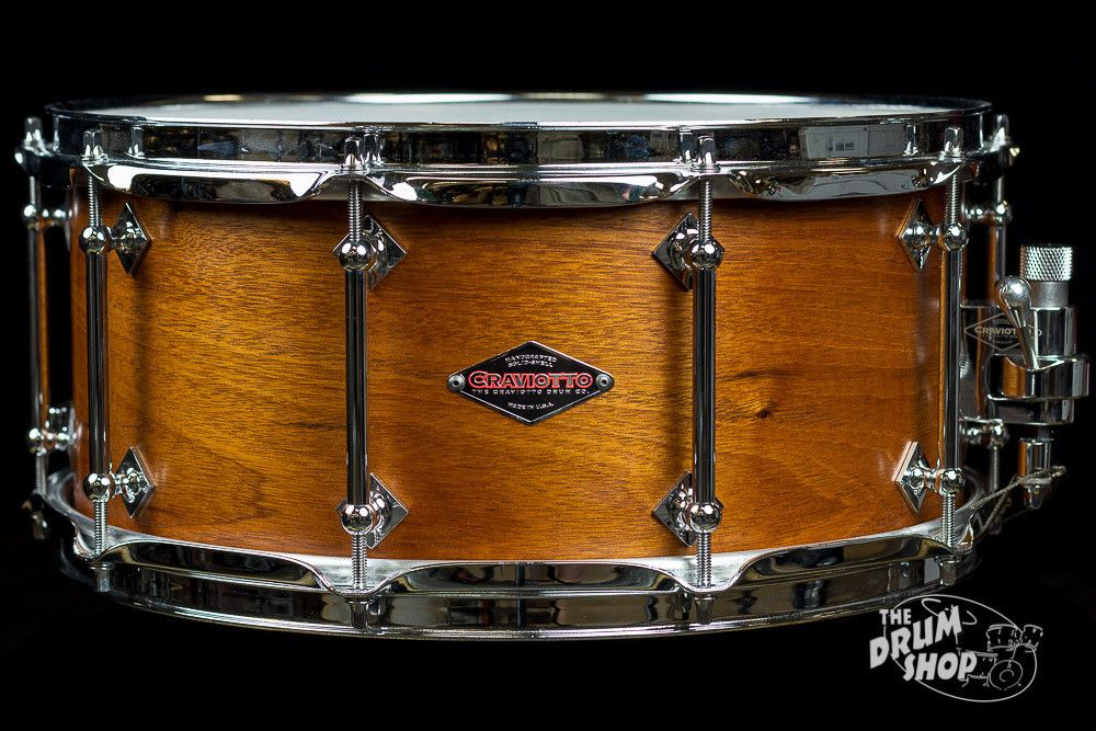 Used Craviotto Mahogany 6.5x14 | Craviotto snare | Pinterest