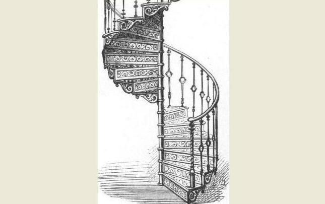 Best Victorian Spiral Staircases Wrought Iron Stairs Spiral 400 x 300