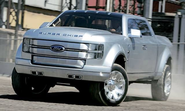 2017 Ford Super Chief front view design pictures