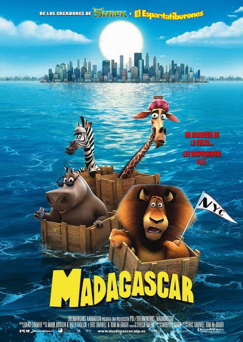 Madagascar Películas De Animación Peliculas De Disney Peliculas Dibujos Animados