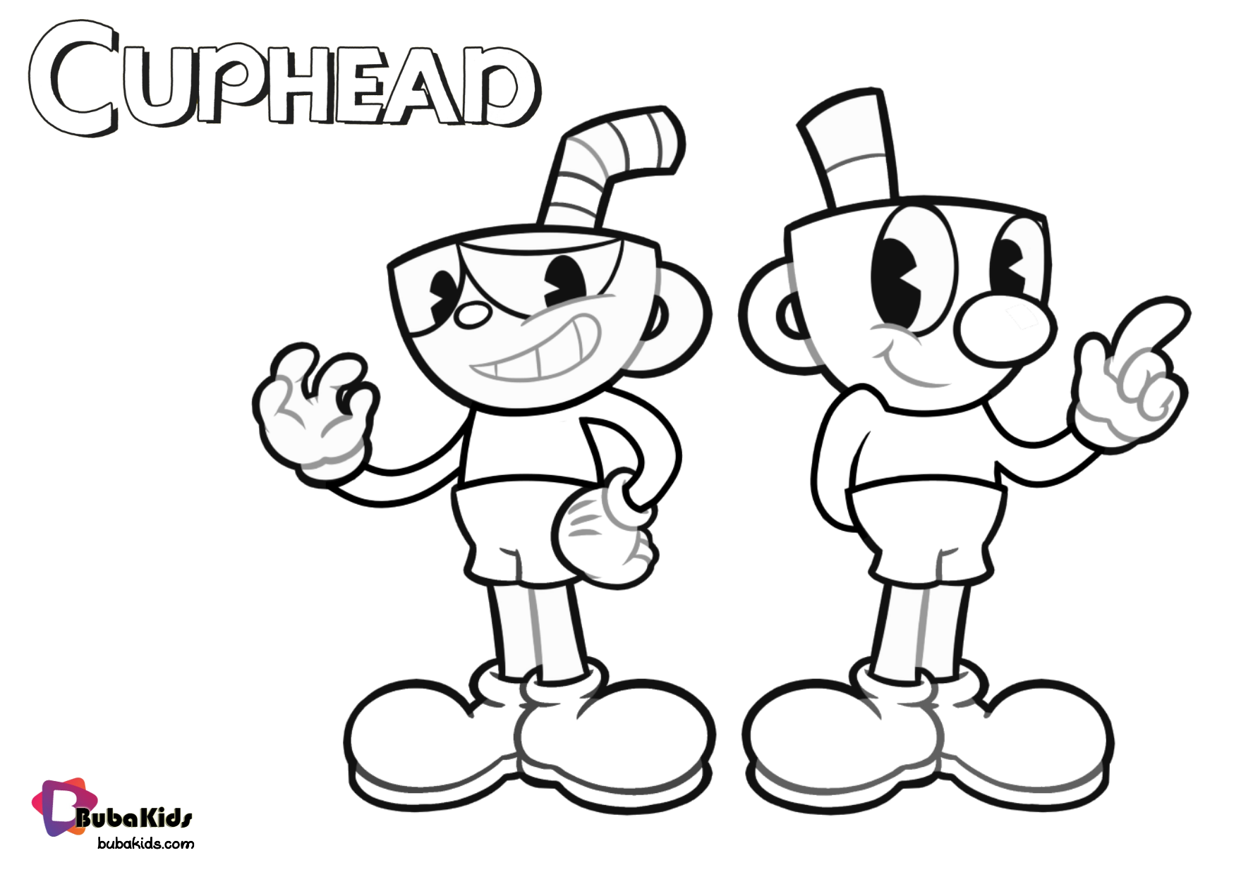 Cuphead Printable Coloring Page Collection Of Cartoon Coloring Pages For Teenage Printable That Yo In 2021 Printable Coloring Pages Coloring Pages Coloring Book Pages