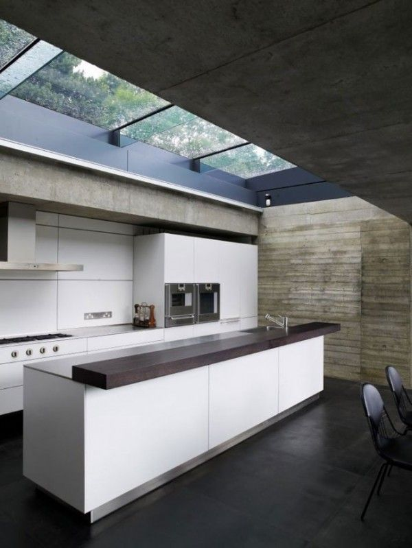 Maximizing Light With Skylight Design Ideas : Modern Kitchen ...