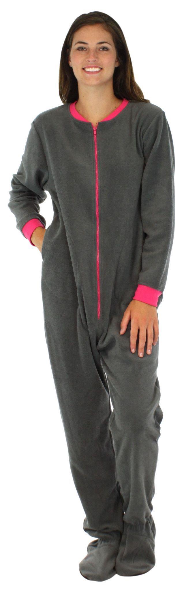 Adult Footed Fleece Pajamas