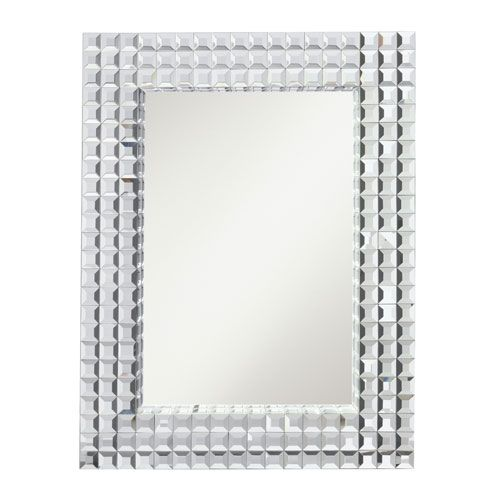Bling Clear Rectangular Mirror Kichler Rectangle Mirrors Home Decor