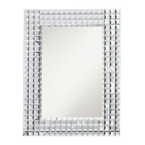 Bling Clear Rectangular Mirror Kichler Rectangle Mirrors Home Decor