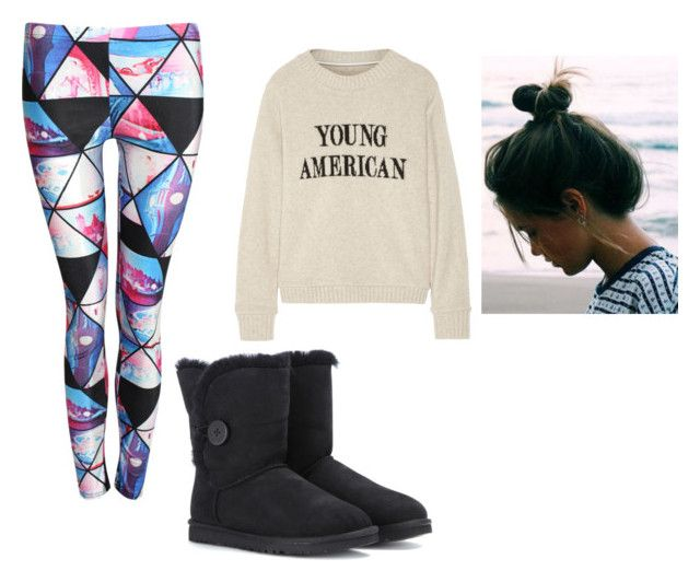 Bed Anyone? by annakuronenballet on Polyvore featuring The Elder Statesman, Pilot and UGG Australia