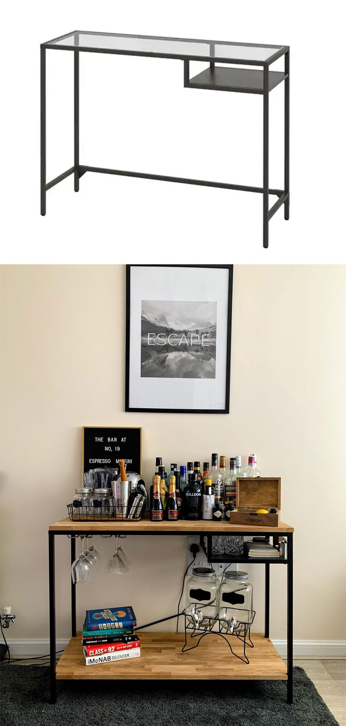 30 Times People Came Up With Ikea Hacks With Great Results Upscale Furniture Ikea Ikea Hack [ 1467 x 700 Pixel ]