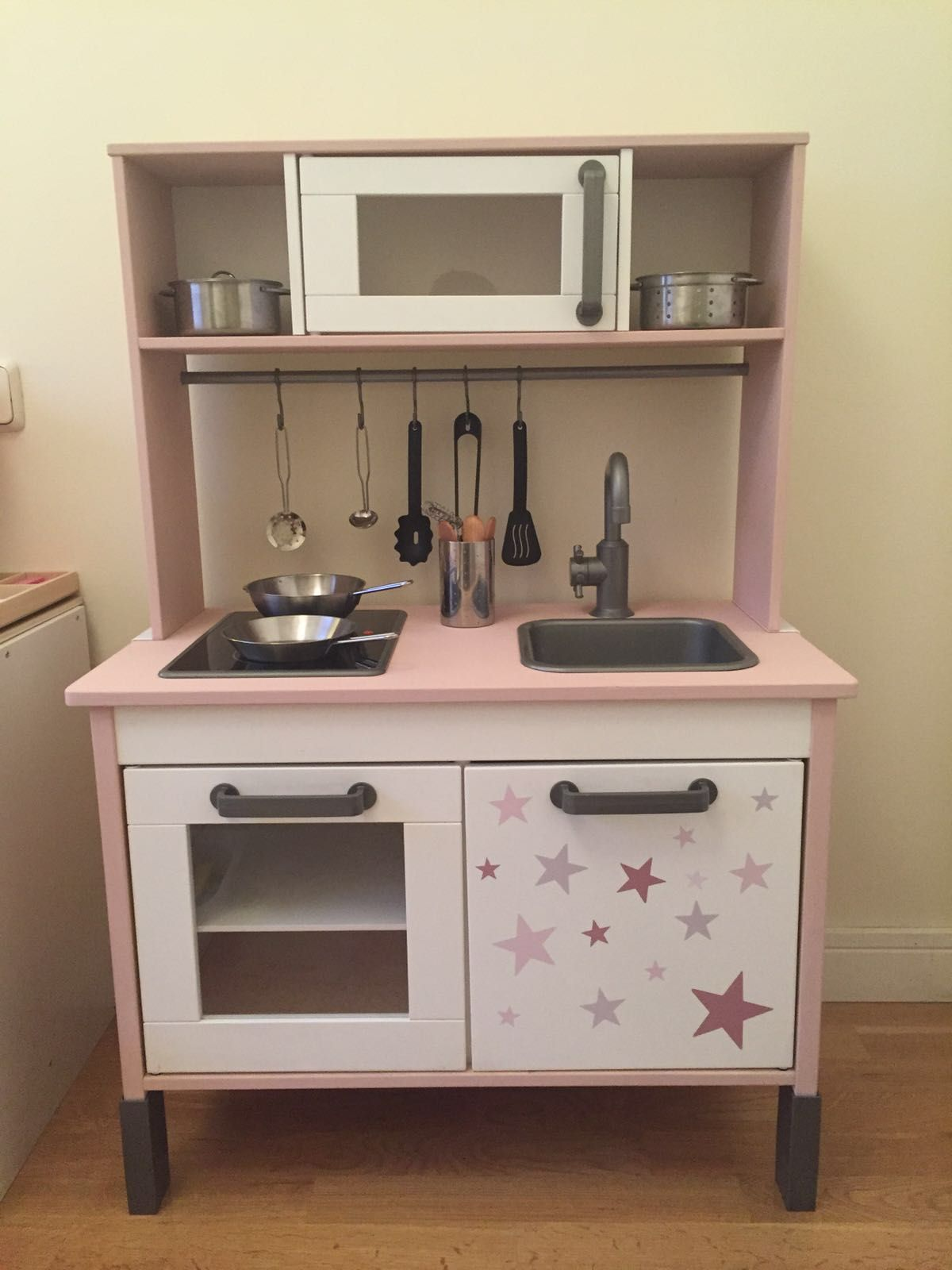 Cocinita De Ikea Tuneada Kitchen Kids Duktig Kmart Kitchen Hack