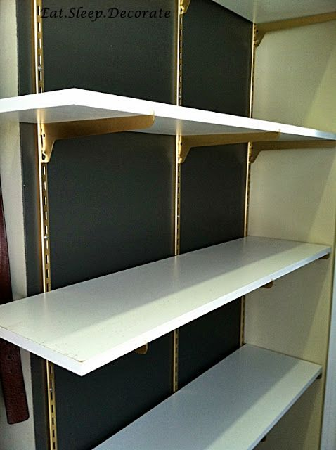 Diy home depot shelves spray painted gold yes living room bedroom