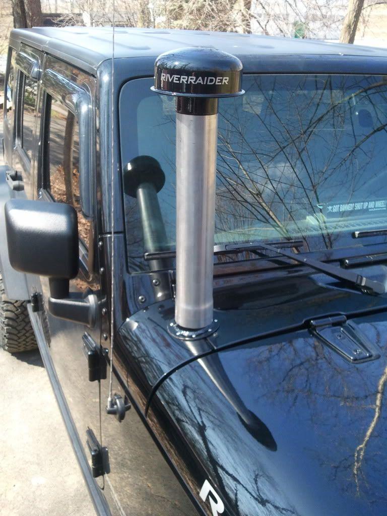Free Jk Hummer Style Cowl Snorkel Page 10 Jkownerscom Jeep Install Wrangler