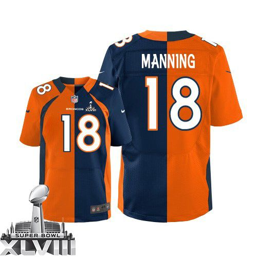 reputable site cdabe 2a5a8 Elite Nike Men's Peyton Manning Team/Alternate Two Tone ...
