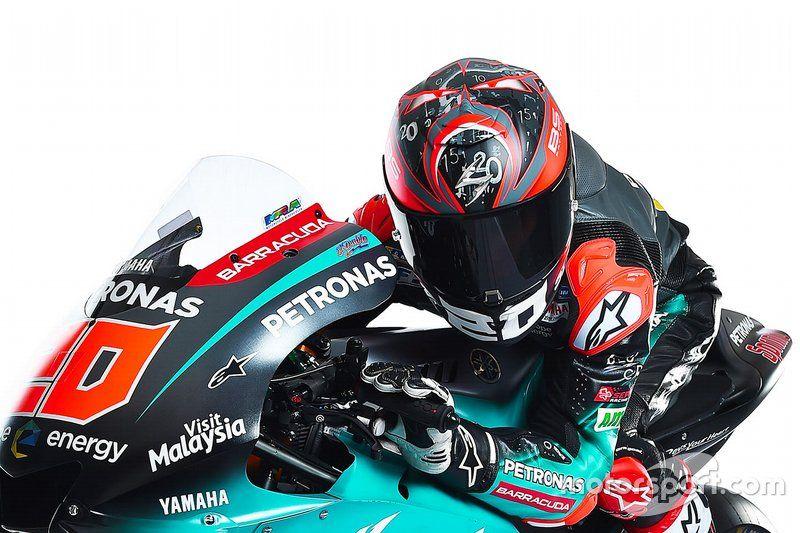 Fabio Quartararo Petronas Yamaha Srt Yamaha Motogp Srt