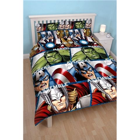 Marvel Avengers Shield Double Size Doona Cover Set available at ... : avengers quilt cover australia - Adamdwight.com